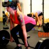 Melissa working on her Deadlifts!!!
